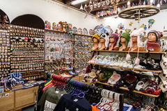 Souvenir Shop in Tallinn Royalty Free Stock Photography