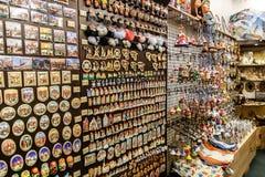 Souvenir Shop in Tallinn Royalty Free Stock Photos