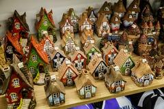 Souvenir Shop in Tallinn Royalty Free Stock Images