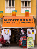 Souvenir Shop in Valencia, Spain Stock Photo