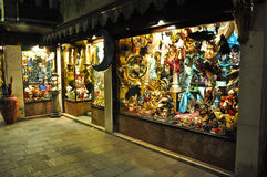 Souvenir shop in Venice, Italy Stock Photography