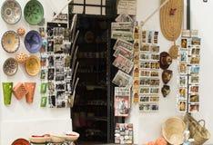 Souvenir shop wall Stock Photography