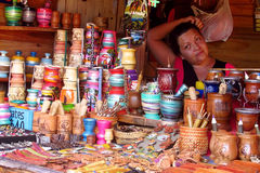 Souvenir shop yerba matte cup Royalty Free Stock Images