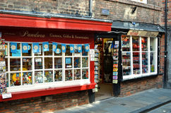 Souvenir shop in York UK Stock Photography