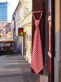 Souvenir shop in Zagreb Upper town Royalty Free Stock Photo