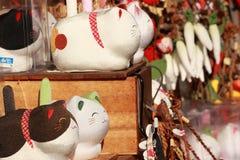 Souvenir shoppar i Gokayama Japan Royaltyfri Bild