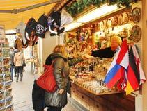 Souvenir shopping Stock Photo