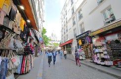 Free Souvenir Shopping Street  Montmartre Paris France Stock Images - 153907554