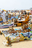 Souvenir shops in desert. Giza, Cairo. Egypt Stock Images