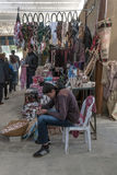 Souvenir shops in Jordan Royalty Free Stock Photos