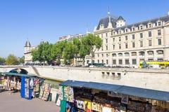 Souvenir shops in the Latin Quarter, Paris Royalty Free Stock Photos