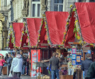 Souvenir shops in the Old Town Square Royalty Free Stock Photo