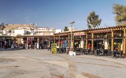 Souvenir shops of Petra Royalty Free Stock Images