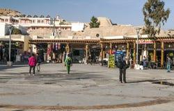 Souvenir shops of Petra Royalty Free Stock Photos