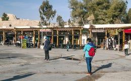 Souvenir shops of Petra Stock Images