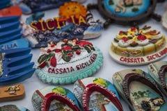 Souvenir of Sicily Stock Photos