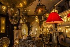 Souvenir of Souks Market in Marrakech, Morocco Royalty Free Stock Photography