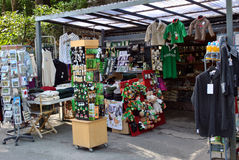 Souvenir stall in ireland Royalty Free Stock Photo