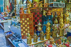 The souvenir stall Royalty Free Stock Photography