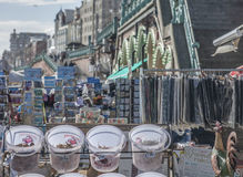 Souvenir stalls in Brighton. This image shows some souvenir stalls in Brighton Stock Photography