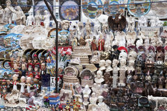 Souvenir stand Royalty Free Stock Image