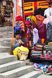 Souvenir Stand in La Paz, Bolivia Royalty Free Stock Images