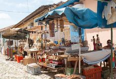 Souvenir stand in Trinidad,Cuba Royalty Free Stock Photos