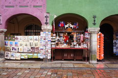 Souvenir stands Royalty Free Stock Images