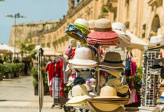 Souvenir stands  in Valletta Royalty Free Stock Image