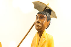 Souvenir statuette from Cuba Royalty Free Stock Photo