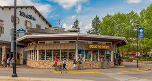Souvenir Store Jasper National Park Stock Photos