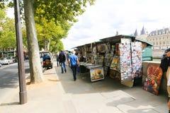 Souvenir store on PARIS Streets Royalty Free Stock Photo