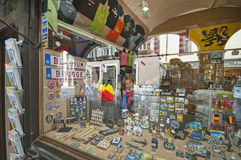 At the Souvenir Store Royalty Free Stock Images
