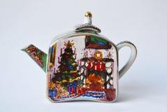 A souvenir teapot Stock Images