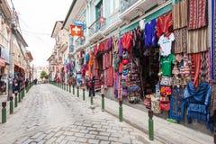 Souvenir tourist market Stock Photography