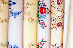 Souvenir towels with embroidery Stock Image