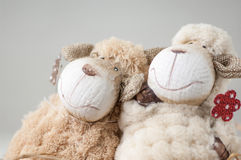 Souvenir toy lamb Royalty Free Stock Images