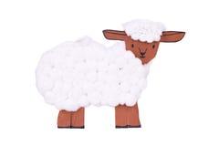 Souvenir toy sheep Stock Photos