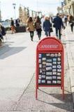 Souvenir turistmagneter Arkivfoton