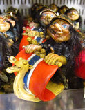 Souvenir ugly troll figure Stock Image