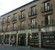 Souvenir vendant le secteur à Toledo photos libres de droits