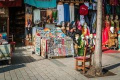 Souvenir vendors in Istanbul, Turkey Stock Image