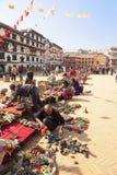 Souvenir Vendors, Kathmandu, Nepal Stock Photography