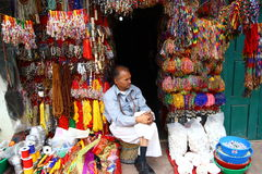 Souvenir Vendors, Kathmandu, Nepal Royalty Free Stock Image