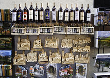 Souvenir and wine from Tuscany,Italy Stock Image