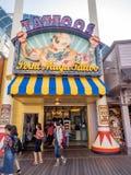 Souvenirladen am Paradies-Pier, Erlebnispark Disneys Kalifornien stockbild
