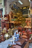 Souvenirladen in Vietnam Stockbild
