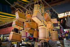 Souvenirlager i Siem Reap Royaltyfria Foton