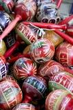 Souvenirs. A bunch of souvenir maracas Stock Images