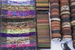 Souvenirs Colombia. Handcrafted wristbands of Santa Marta, Colombia stock images